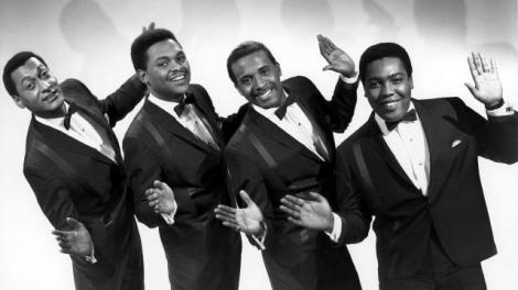 "1966 L to R: Abdul ""Duke"" Fakir, Renaldo ""Obie"" Benson, Levi Stubbs, Lawrence Payton Courtesy of Michael Ochs Archives/Venice, CA"
